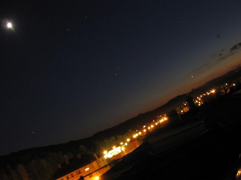 Astronomski kroŽek gimnazije Šentvid prehod venere čez sonce 8.6.2004