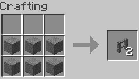 stone fence gate minecraft. Minecraft Fence Gate Recipe. Recipe Stone